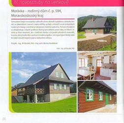 vizualizace domu - zahradní pohled